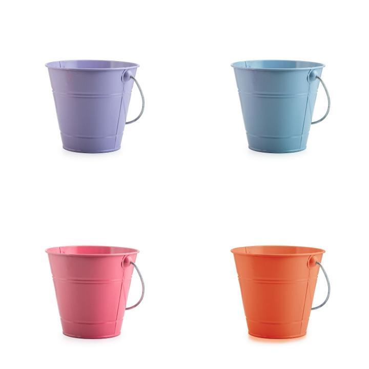 Green New!!! Metal Bucket