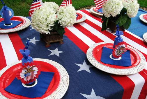 Fourth Of July Tableware