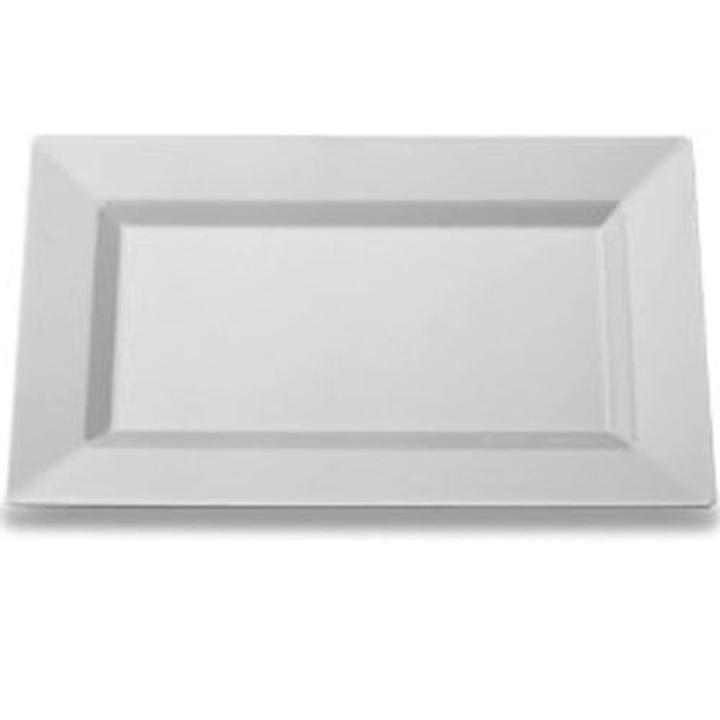 Clear Rectangle Plates (10)  sc 1 st  Factory Direct Party & Rectangular Plate