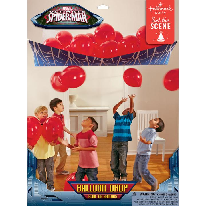 Spider Hero Dream Party Balloon Drop
