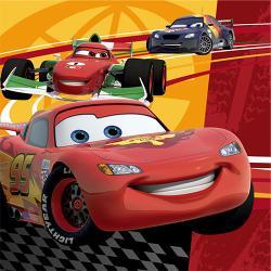 Disney Cars 2 3D Beverage Napkins 16