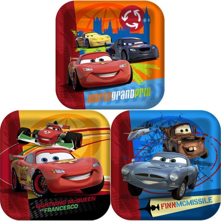 Disney Cars Plates