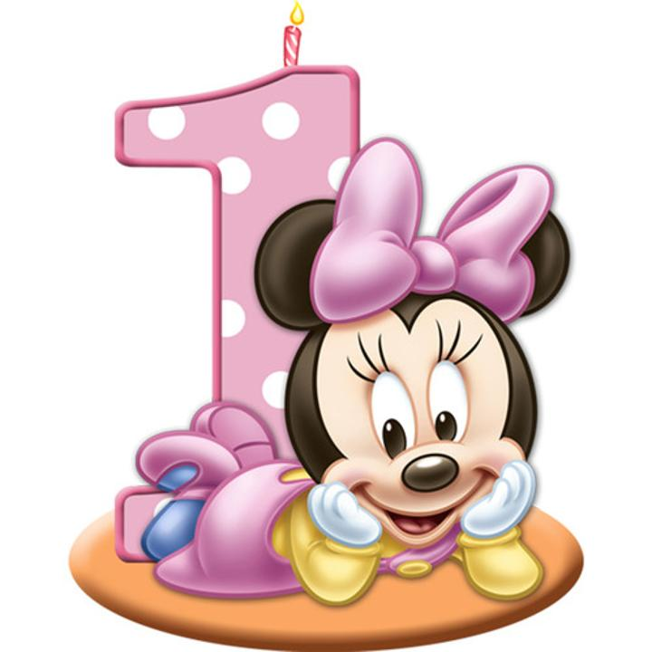 Minnie Mouse 1st Birthday Candles Bring Even More Fun To The Minnies Themed Party Each Package Contains 1 Candle