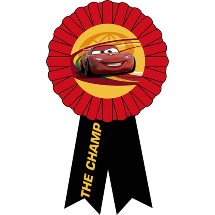 Disney Cars 2 Award Ribbon