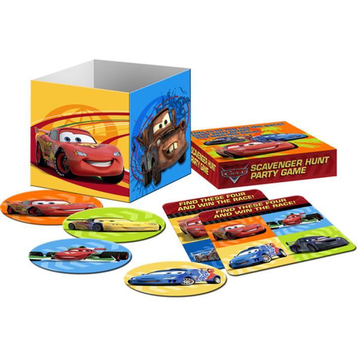 Disney Cars 2 Scavenger Hunt Game