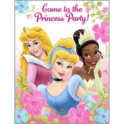 Disney princess party supplies wholesale disney fanciful princess party invitations 8 negle Choice Image