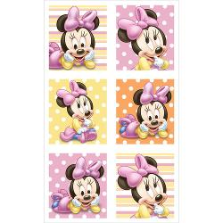 Minnies 1st Birthday Stickers 4