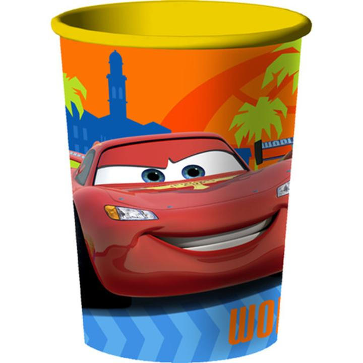 Another Great Way To Bring Even More Disney Cars 2 Fun Your Birthday Party Use For Super Sized Drinks Or As A Take Home Container Favors