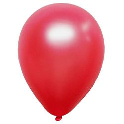 12 In. Red Pearlized Balloons - 10 Ct.