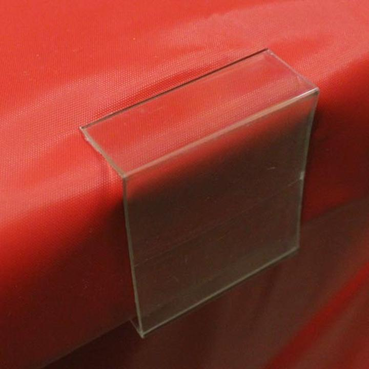 Charming ... Clear Plastic Table Cover Clips · Click Image To Enlarge