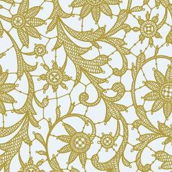 Gold Lace Table Cover