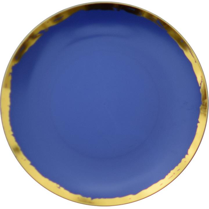 10 In. Glam Design Plastic Plates - 10 Ct.  sc 1 st  Factory Direct Party : large disposable plates - pezcame.com