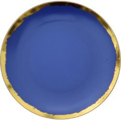 10 In. Glam Design Plastic Plates - 10 Ct.