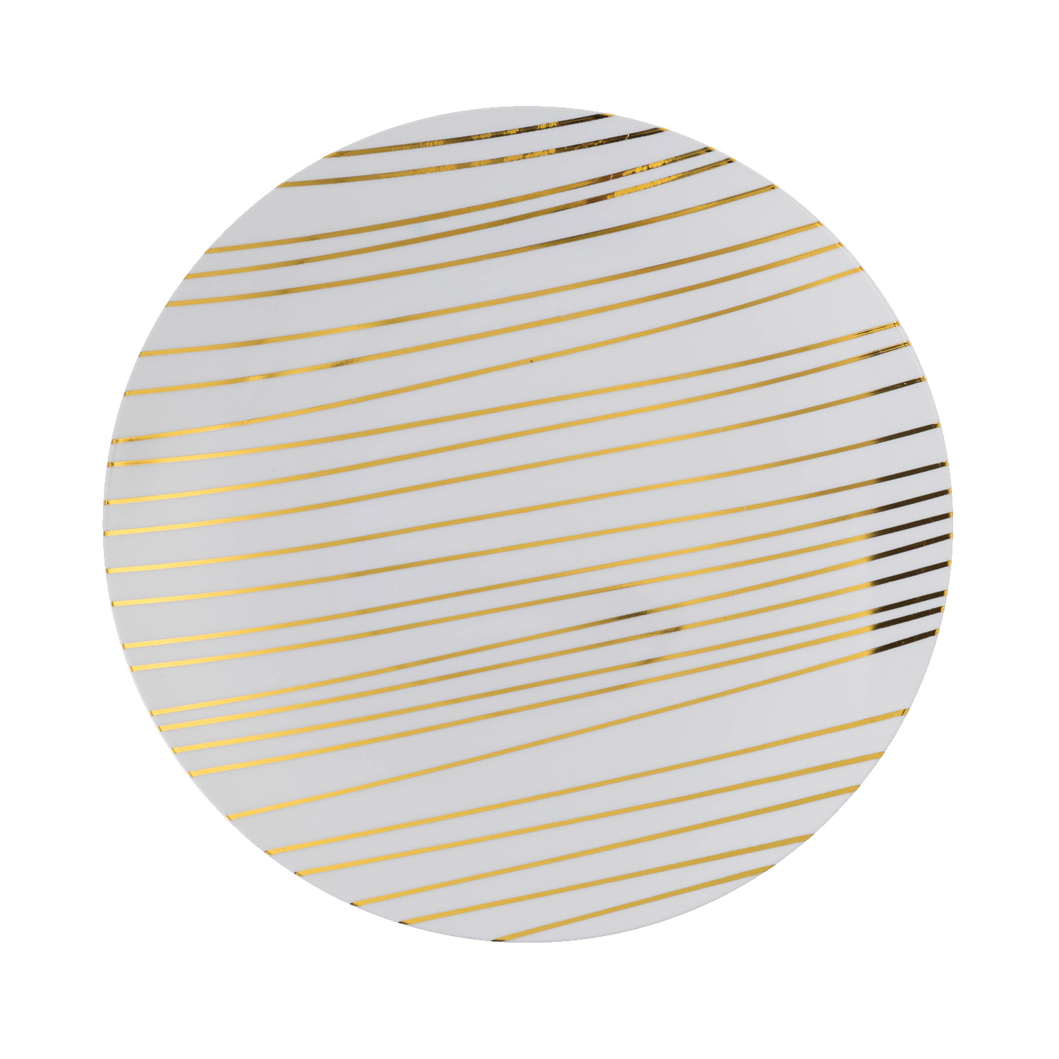 8 In. Glam Design Plastic Plates - 10 Ct.  sc 1 st  Factory Direct Party & Elegant Disposable Dinnerware - Fancy Disposable Plates u0026 Bowls