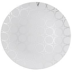 10 in geo design plastic plates 10 ct