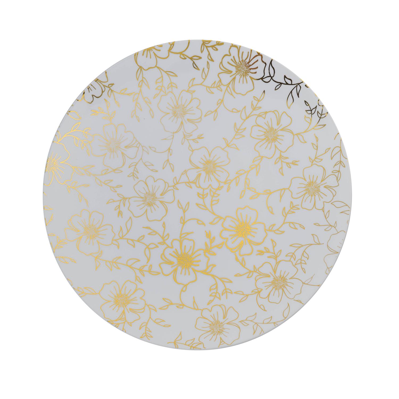 8 In. Versa Design Plastic Plates - 10 Ct.  sc 1 st  Factory Direct Party & Elegant Disposable Dinnerware - Fancy Disposable Plates \u0026 Bowls