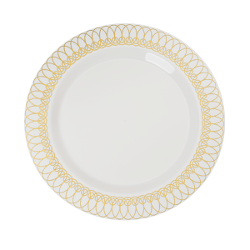 Ovals Design Plates - 10 Ct.  sc 1 st  Factory Direct Party & Holiday Dinnerware Sets | Holiday Tableware