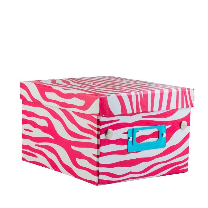 Decorative Holiday Boxes Pleasing Zebra Print Decorative Gift Boxes Cheap Decorating Design