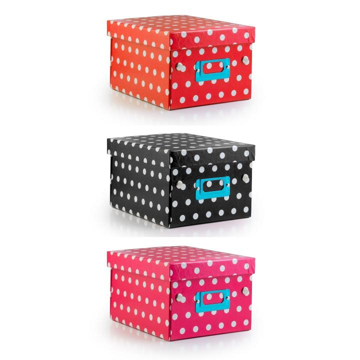 Decorative Gift Box With Polka Dots