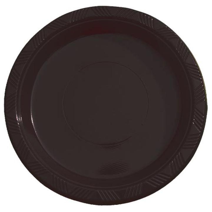 Black plastic plates (15)  sc 1 st  Factory Direct Party & Black Plastic Plates Bulk