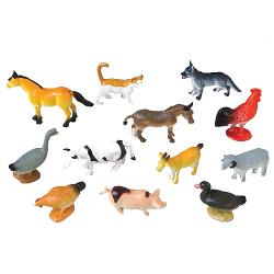 Mini Farm Animals - 12 Ct.