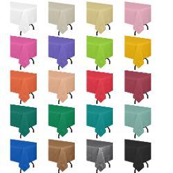 Bulk Plastic Tablecloths Amp Plastic Table Covers Colorful