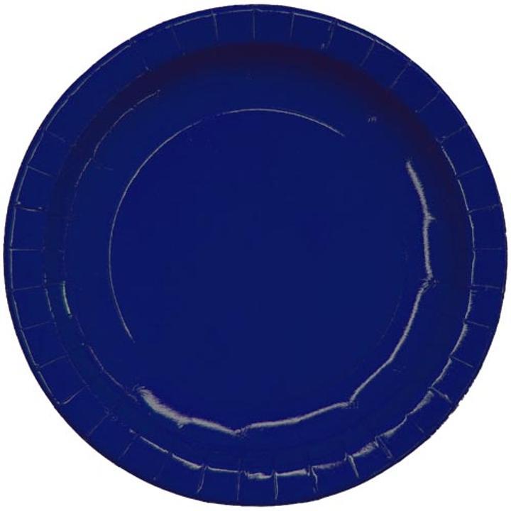 9 navy blue paper plates. Black Bedroom Furniture Sets. Home Design Ideas